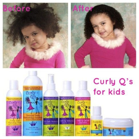 Curly Q S For Kids Curly Hair Products With Images Kids Curly