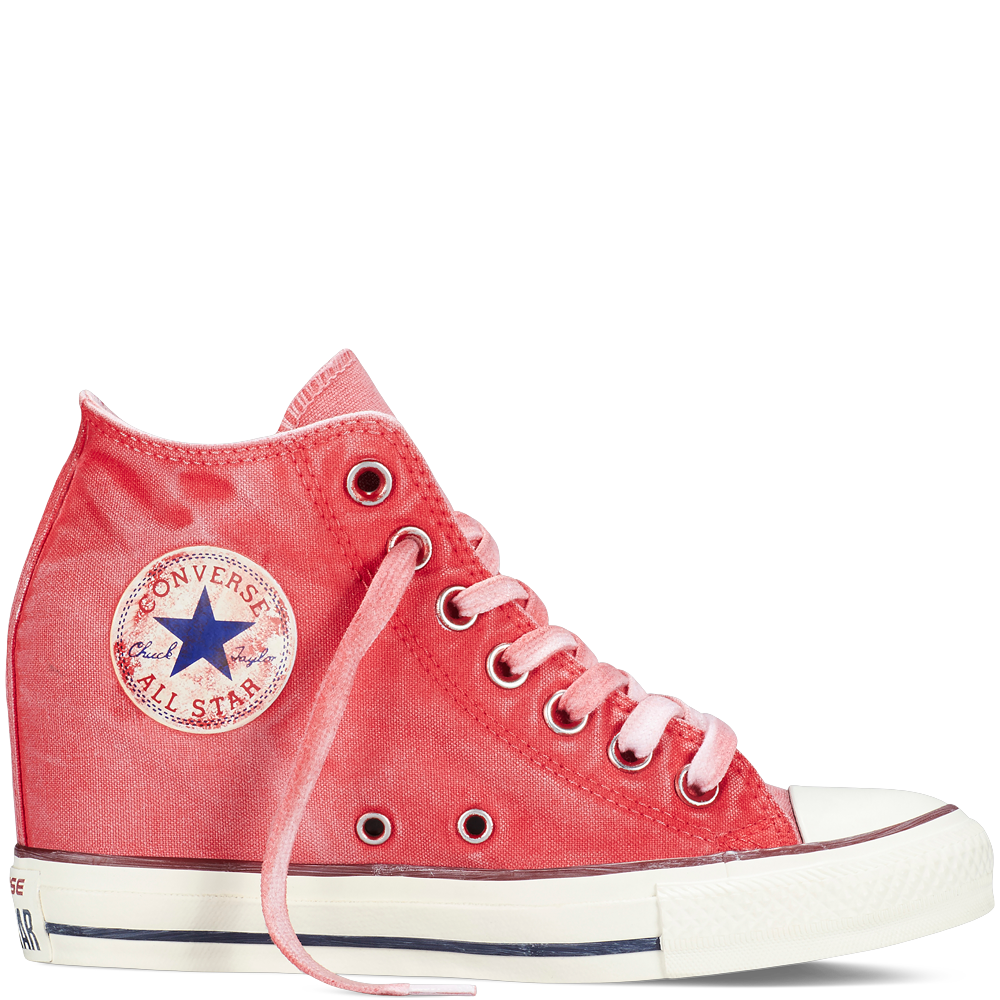 Converse Chuck Taylor Carnival Pink Canvas Sneaker (Unisex)