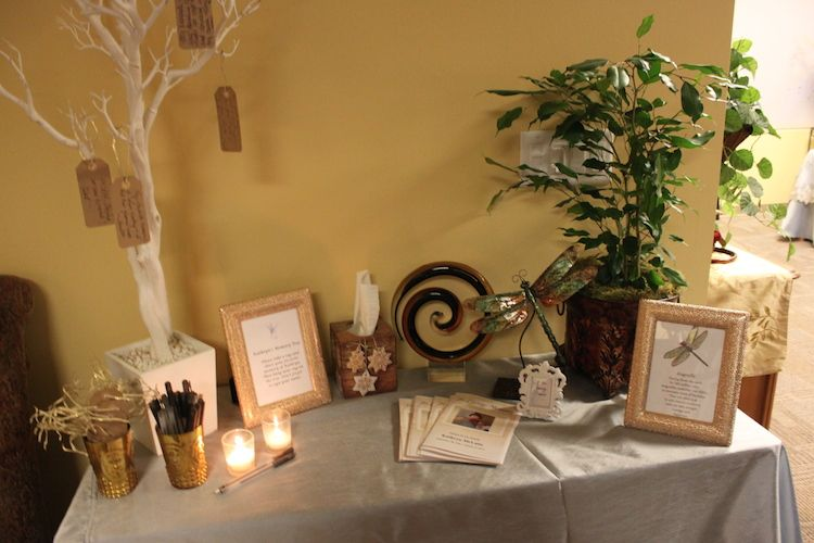 Beau Celebration Of Life Memory Tree Table Display