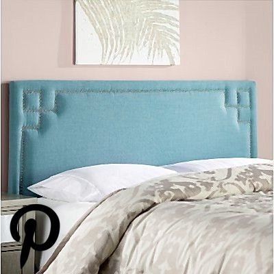 Willa Arlo Interiors Diego Upholstered Panel Headboard Size Queen Upholstery Color Conifer Green