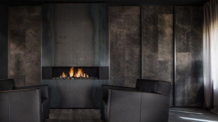 paredes texturas masculinas contemporaneas Interiores con