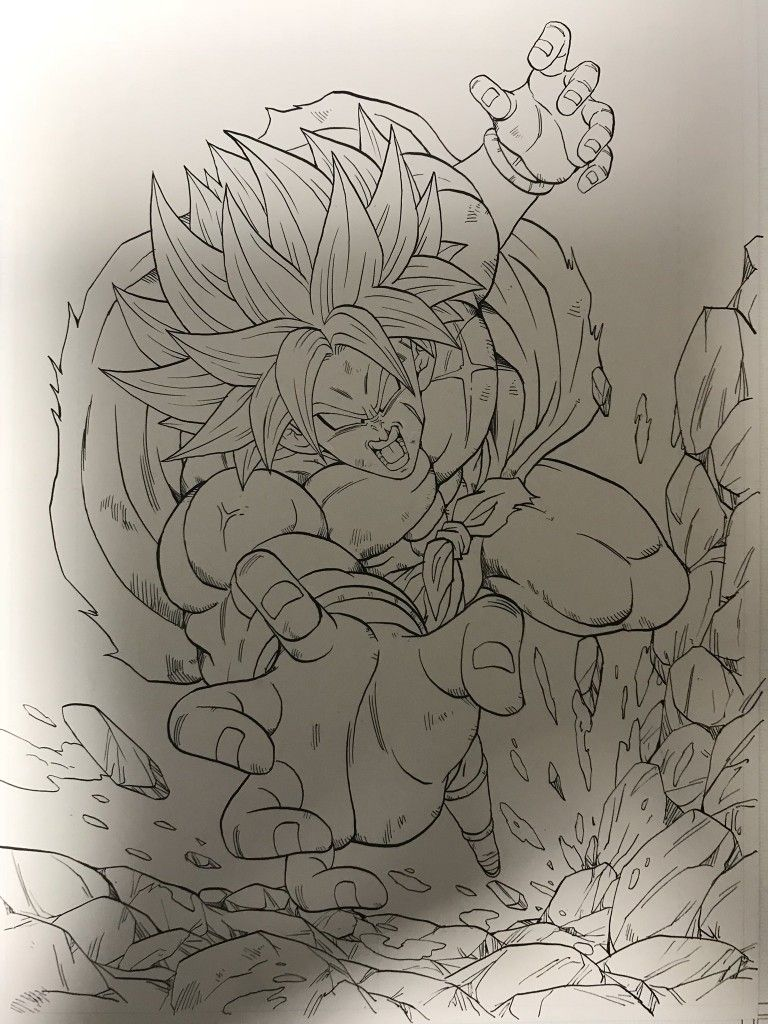 Dessin broly film 2018 youngjijii youngjijii - Dessin de dragon ball ...