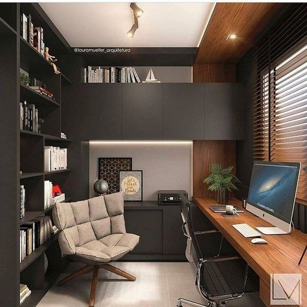 Interior Design Ideas For Home Office: Modern Office Interiors Ideas 55