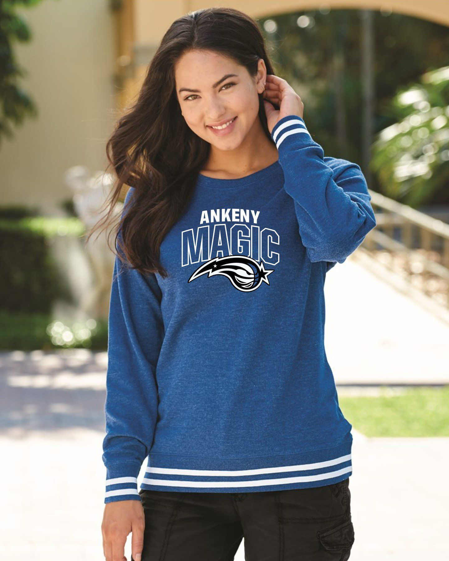 Adult - Ladies Relay Crewneck Sweatshirt - Ankeny Magic - 2XL / ROYAL