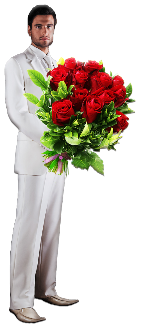 Картинки парень на колене дарит цветы