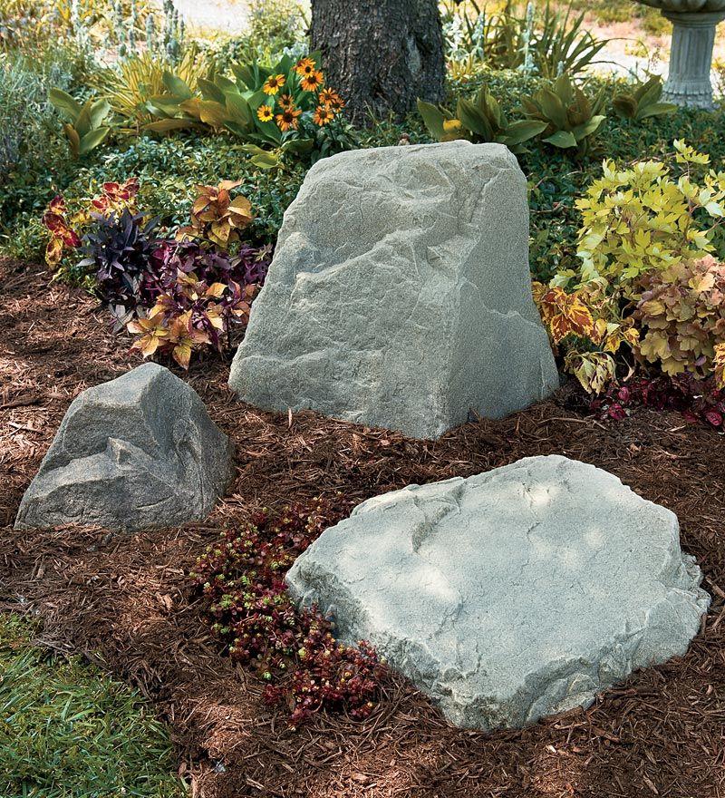 Backyard Landscaping · Fake Rock ...