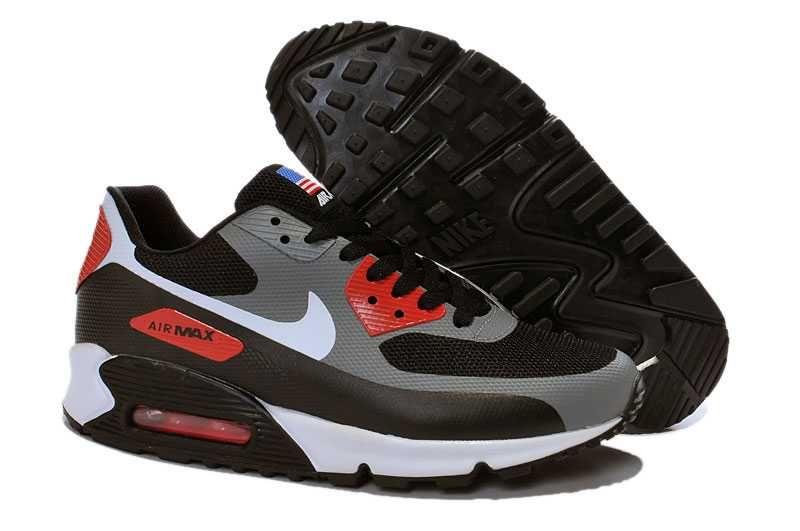 sports shoes a72fa bfa3f homme air max 90 hyperfuse gris et noir soldes,nike air max pas cher