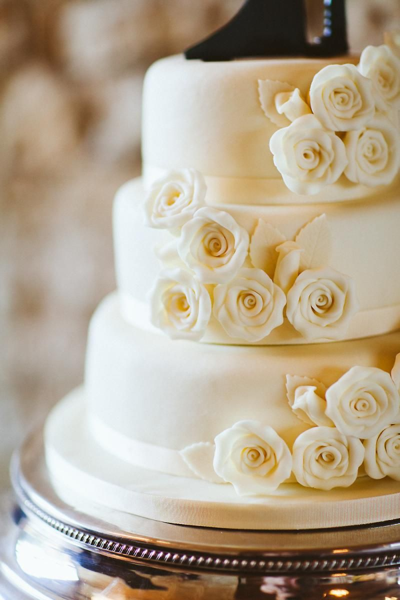 MS Wedding Cake Featured At Victoria And Davids Notley Abbey In Buckinghamshire