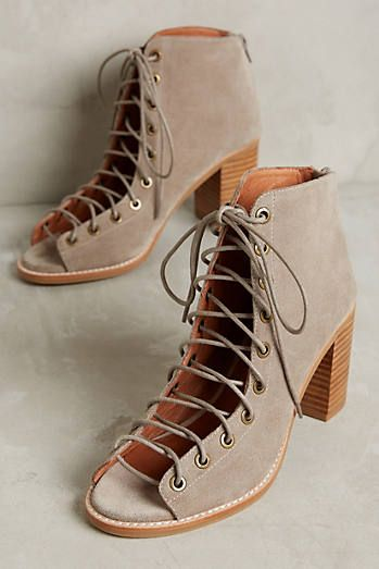 Jeffrey Campbell Cors Lace-Up Ankle Boot