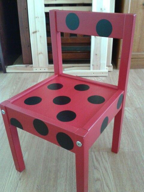 Cute Ladybird kids chair