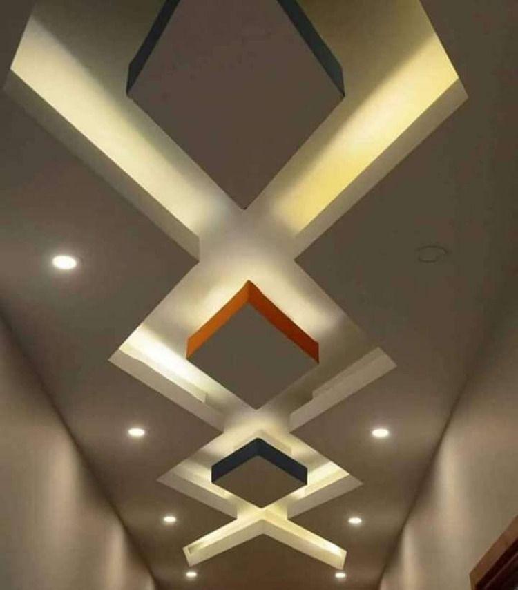 جبس ممرات 2020 أفضل ديكورات جبس فخمه للممرات والمداخل لبيتك الجديد Ceiling Design Ceiling Design Modern Modern Ceiling