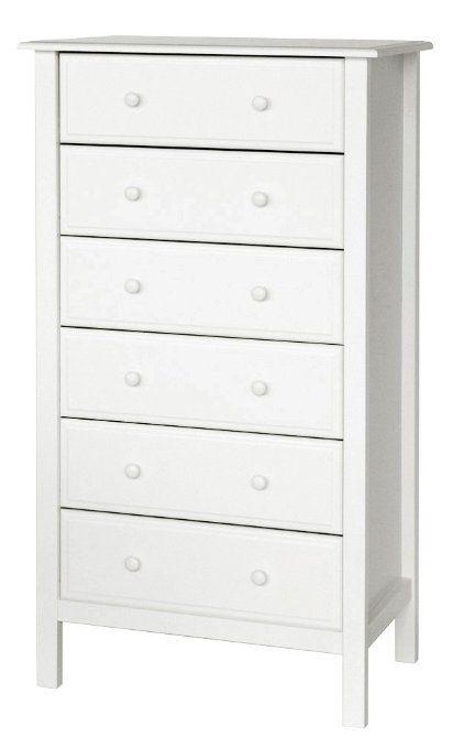Amazon Com Davinci Jayden 6 Drawer Tall Dresser White Baby 6