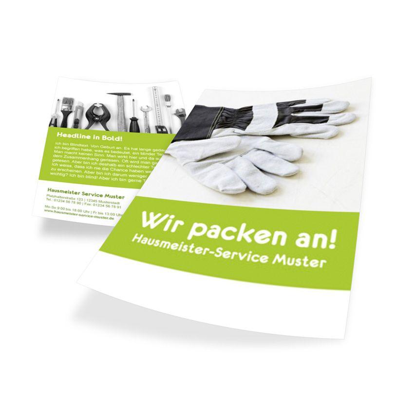 Dienstleistungen Flyer Din A5 Vorlage 2141 Zum Online Gestalten Flyer Gestalten Online
