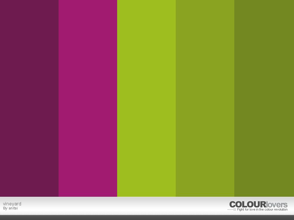 Vineyard palette