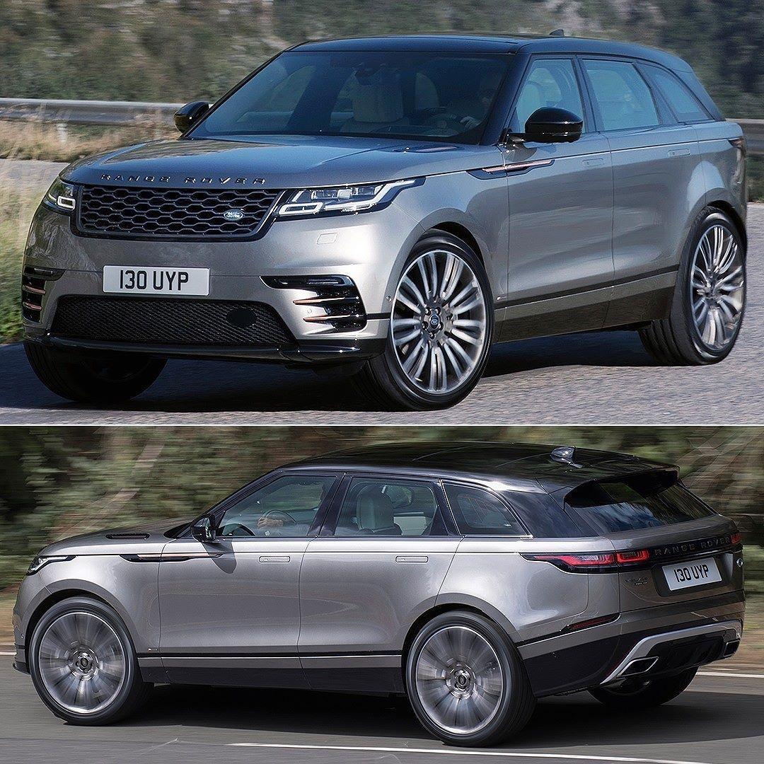 Range Rover Velar 2018 Novo SUV Land Rover começou a ser