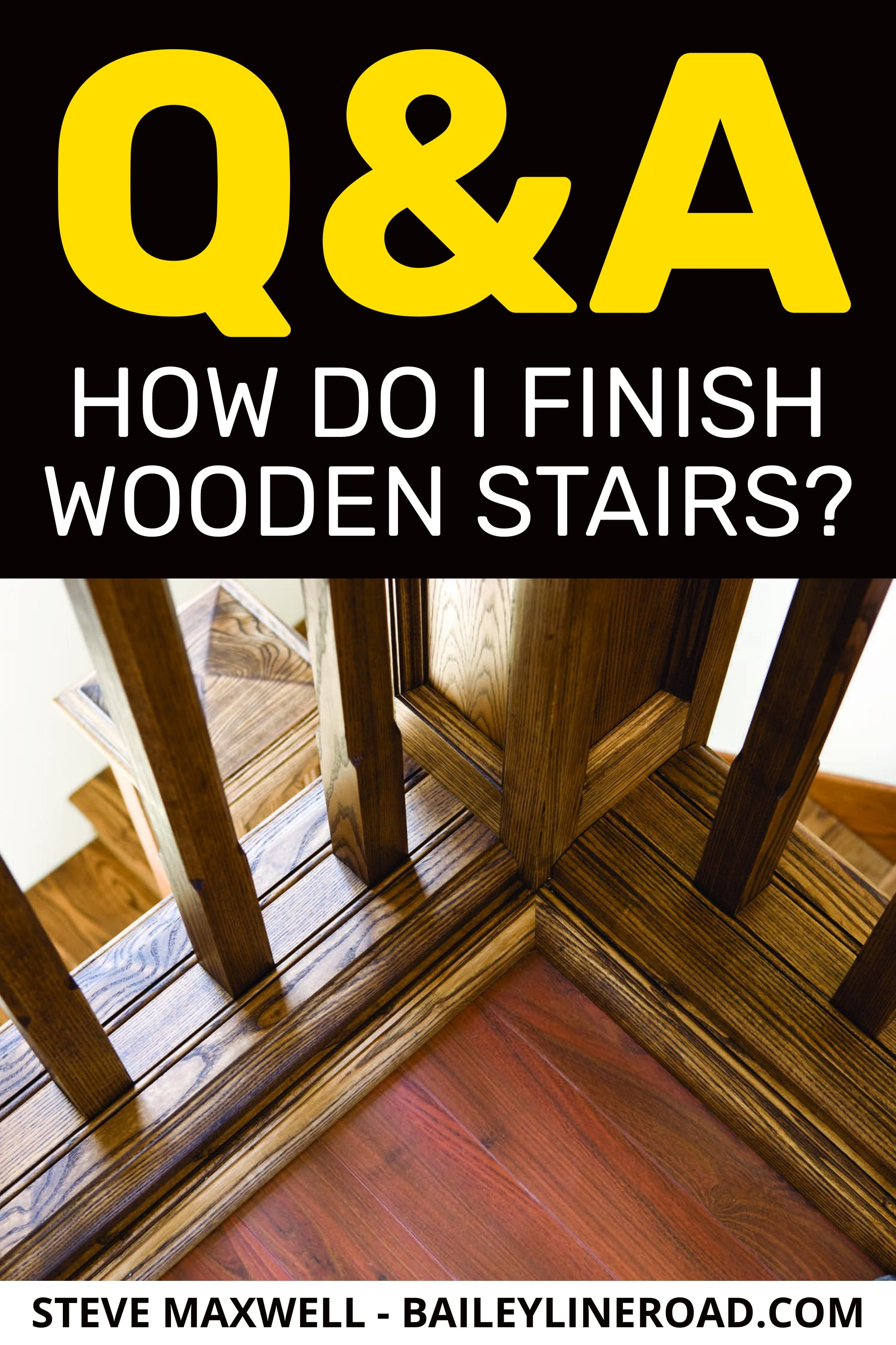 Best How To Refinish Stairs Refinish Stairs Wooden Stairs 400 x 300