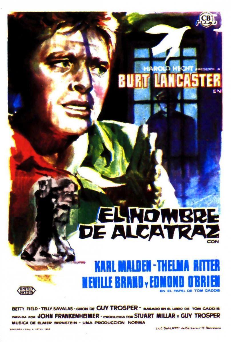 El Hombre De Alcatraz 1962 Dvd Carteles De Peliculas Carteles
