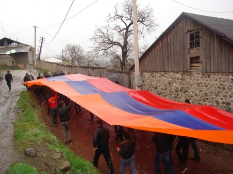 Armenios en Javakheti obtienen pasaportes rusos - Soy Armenio