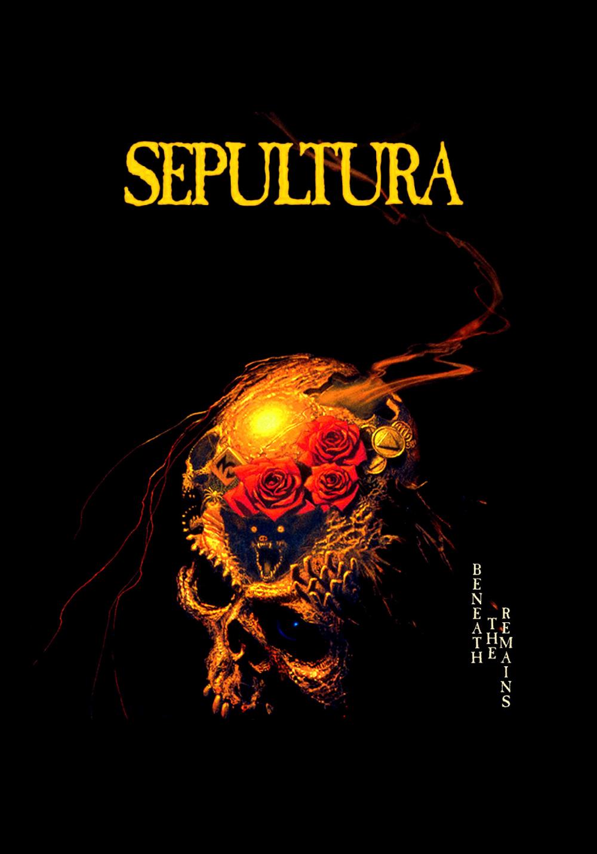 Sepultura Beneath The Remains 1989 Metal Band Logos Metal Music Bands Heavy Metal Art