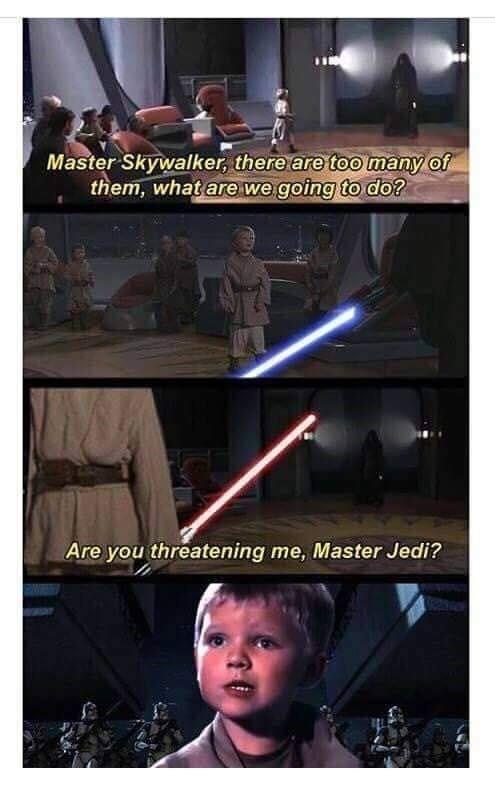 40 Deliciously Dank Star Wars Memes Star Wars Humor Star Wars Memes Star Wars Facts