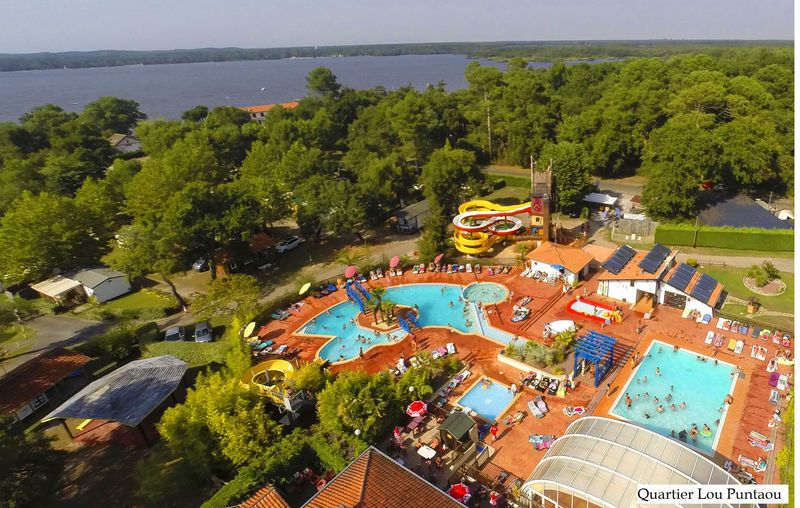 Lou Puntaou, Camping Aquitaine - Overzicht Campings Pinterest - camping auvergne etoiles avec piscine