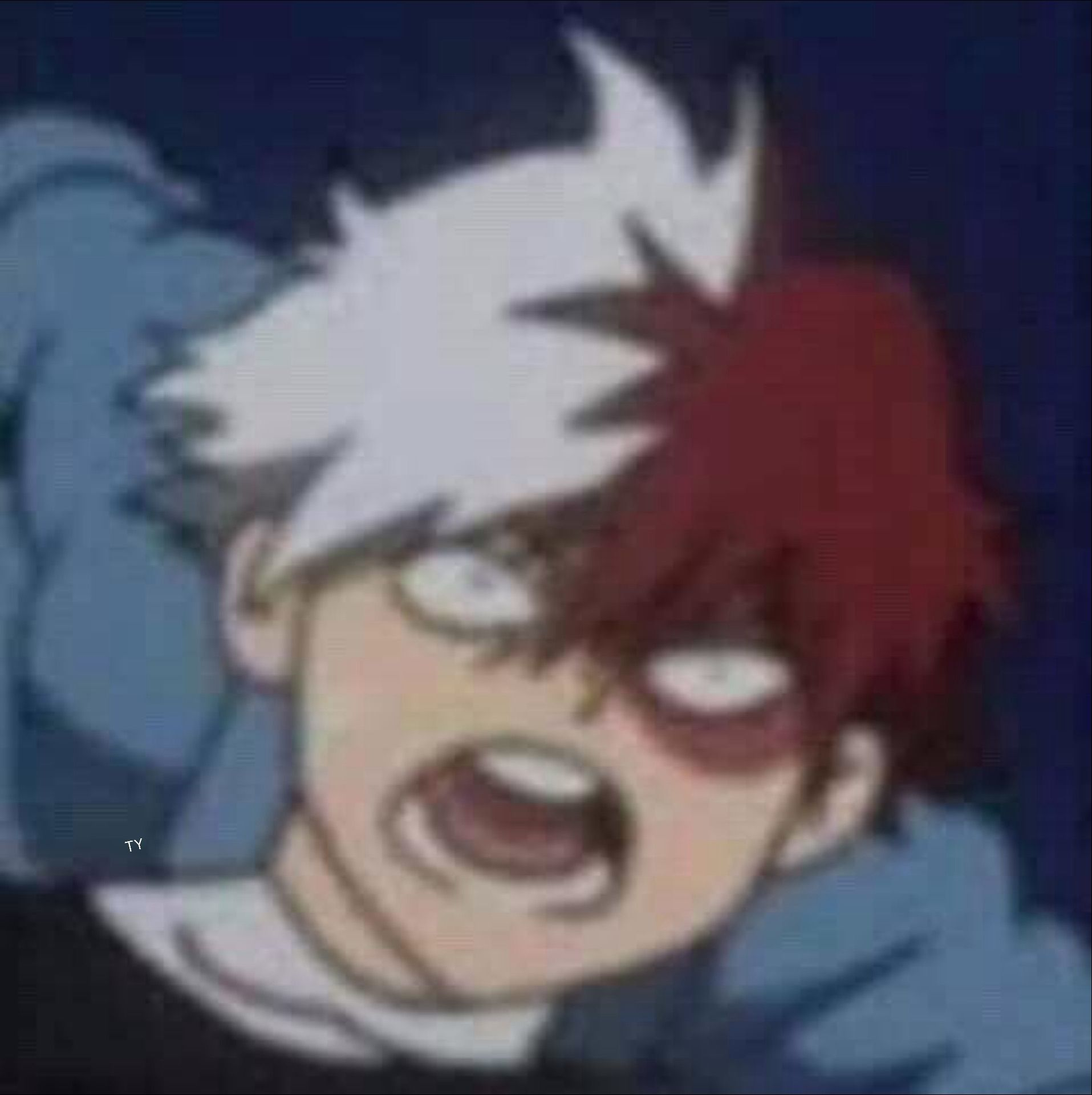 Why just..why Anime meme face, My hero academia