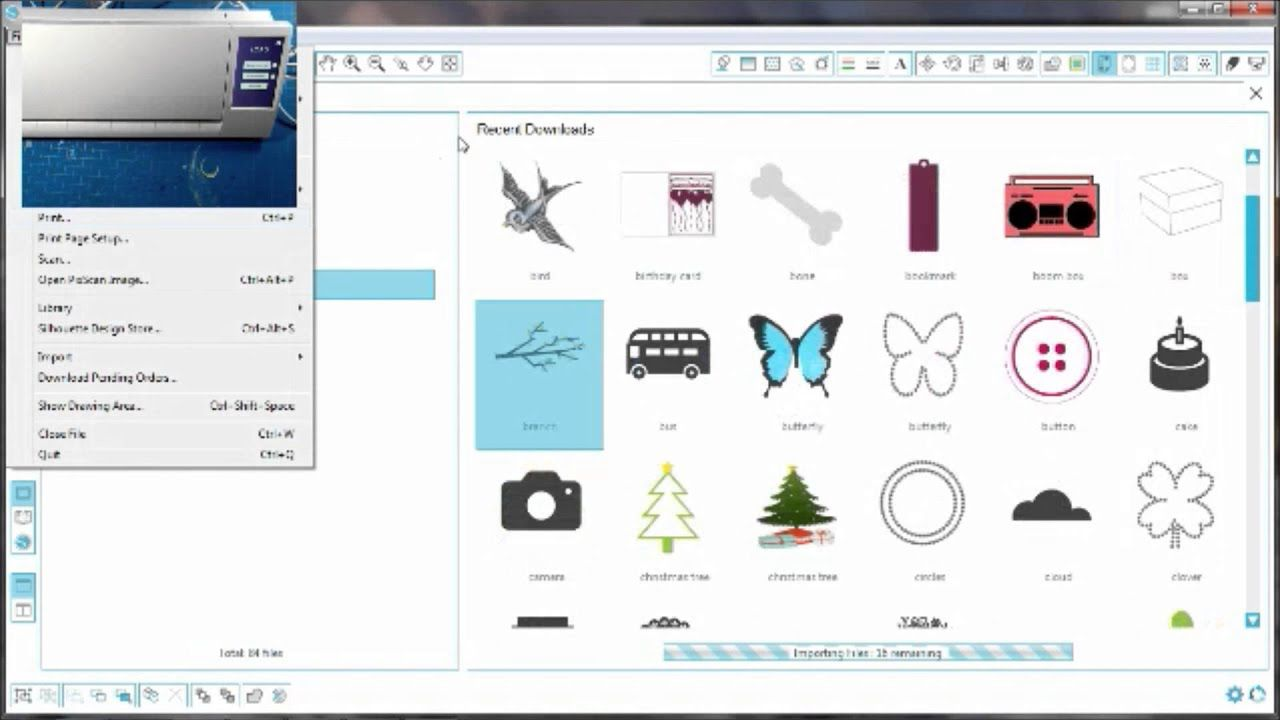 Silhouette Cameo 2 Unboxing and First Cuts   Silhouette tips and