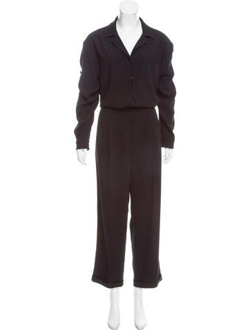 Rag & Bone Long Sleeve Button Up Jumpsuit