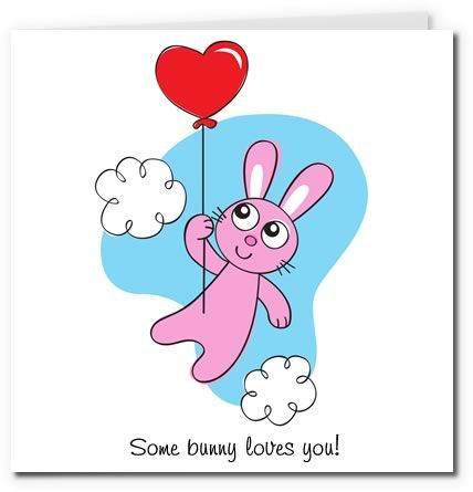 bunny valentine cards go back gallery for valentine card