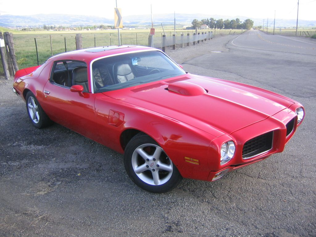 1973 Pontiac Firebird Muscle Cars Trans Am