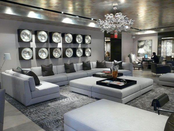 Donghia London, Bond Street Sofa   Donghia Showrooms   Pinterest    Showroom, Interiors And Living Rooms