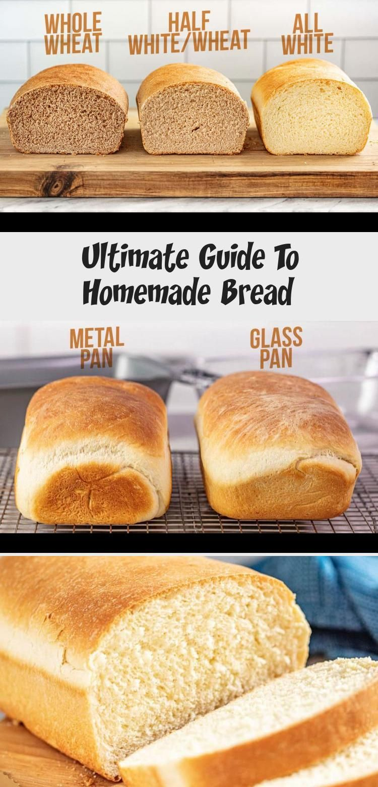 Ultimate Guide To Homemade Bread Bread Food Recipes Base Foods