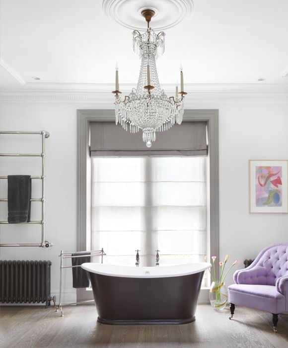 22 Rooms With Dramatic Chandeliers Beautiful Bathrooms Interior