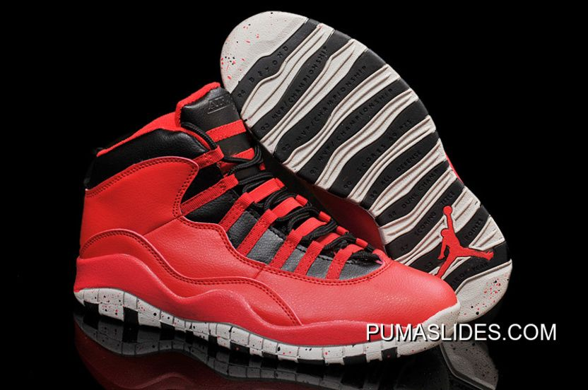 """best service 8128a 0ec75 Buy Air Jordans 10 """"Gym Red"""" Gym Red Black-Wolf Grey Shoes For Sale Lastest  from Reliable Air Jordans 10 """"Gym Red"""" Gym Red Black-Wolf Grey Shoes For  Sale ..."""