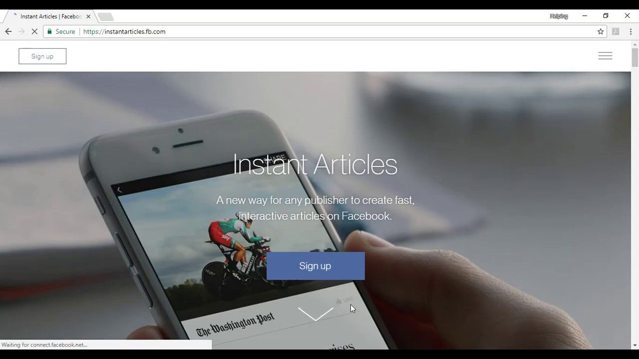 How to Setup Facebook instant Articles | how to get approved