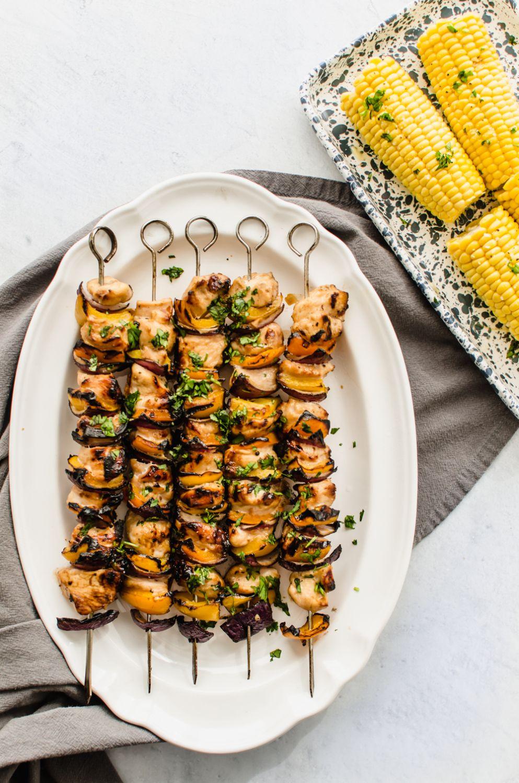 Honey Garlic Chicken Kabobs