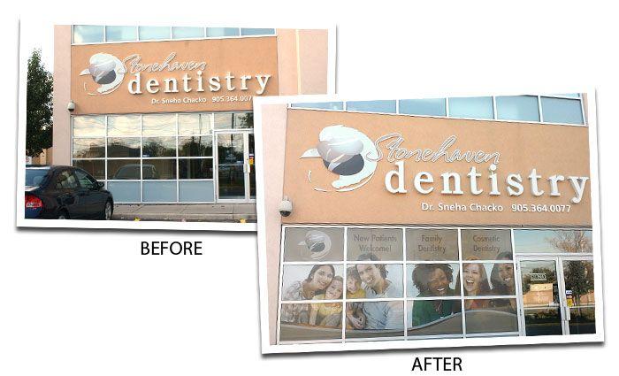 Dental Clinic Window Decals Window Graphic Decals Pinterest - Window decals for dental office