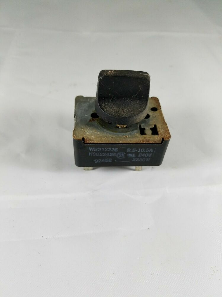 Details About Ge Hotpoint Kenmore Range Surface Infinite Switch Wb21x226 Ks822436 8 5 10 5a Kenmore Range Hotpoint Kenmore