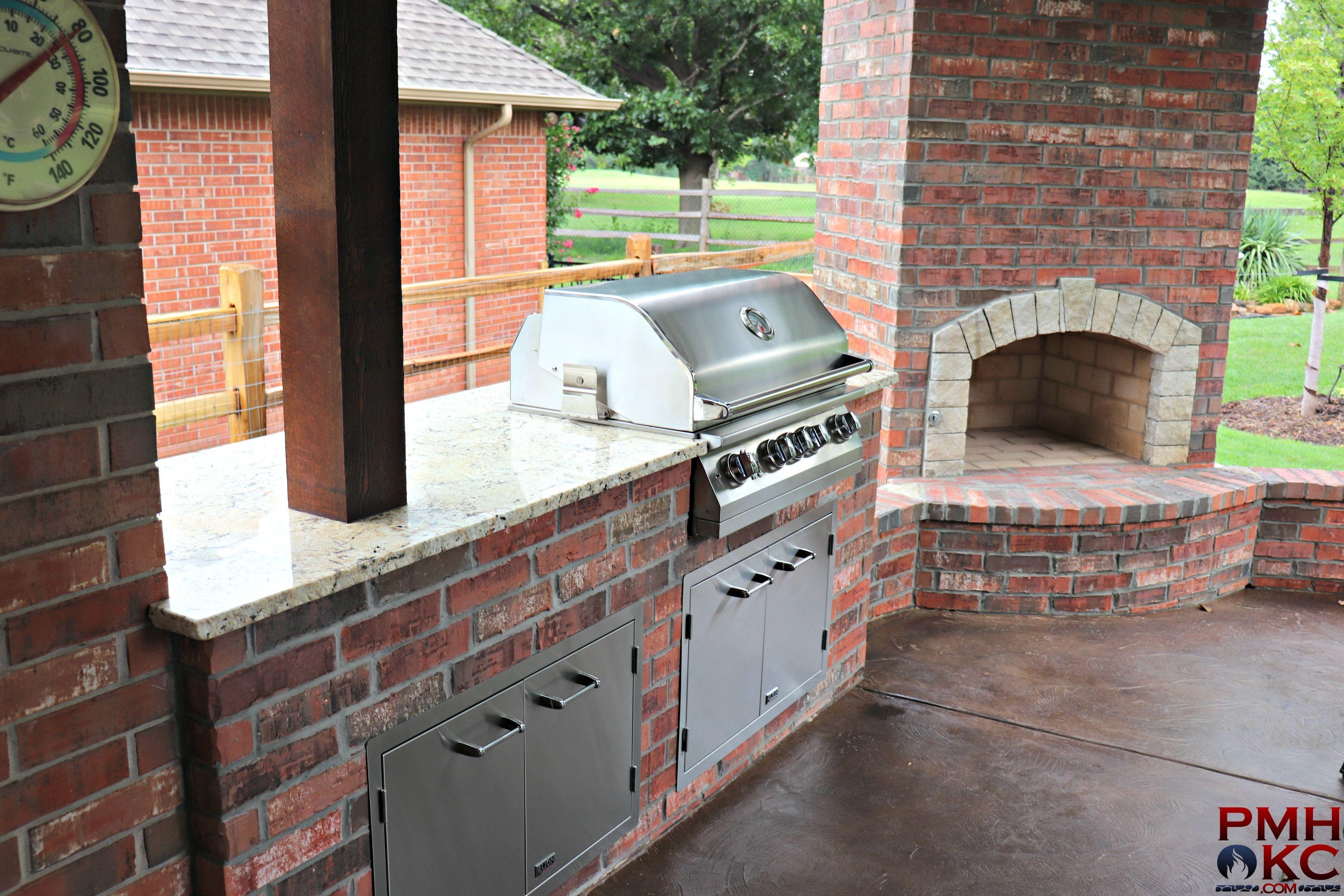 Outdoor Kitchens Okc Outdoor Kitchen Brick Kitchen Outdoor