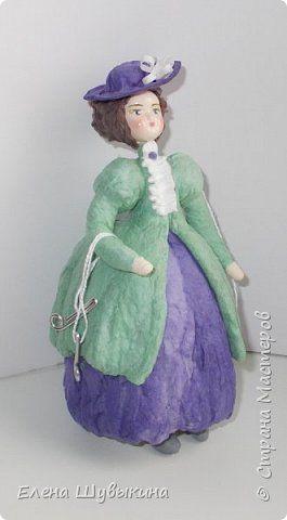 Куклы из ваты (елочные игрушки) фото 3