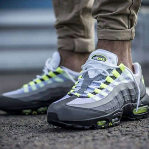 The Nike Air Max 95 Og Neon Are Dropping Soon Pic Via Overkillshop Nike Airmax Sneakers Kicks Sneakerhead Kicks Skate Wear Nike Air Max 95 Urban Wear