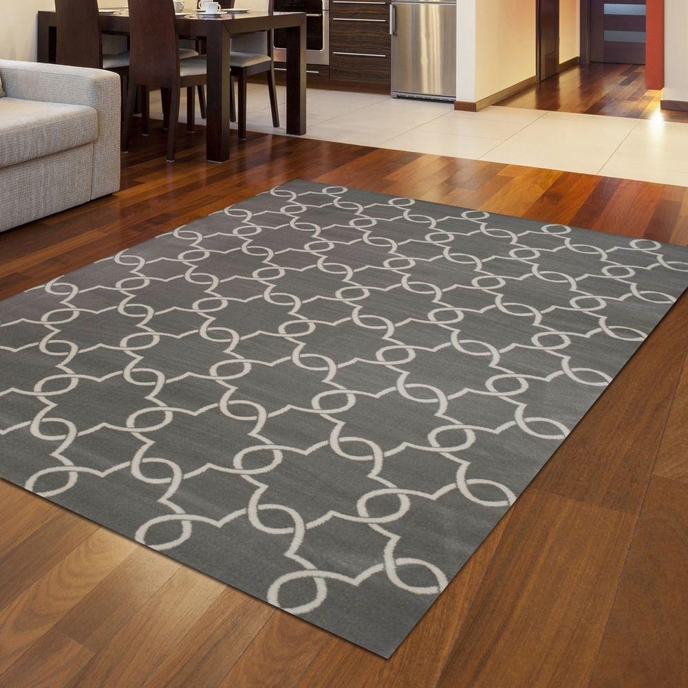 Plaza Style Area Rug 7 10 X 10 6 7 10 X 10 6 Grey Gray