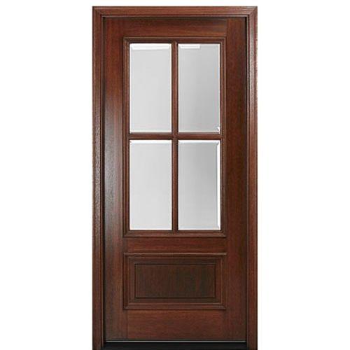Dd4l 1 Contemporary Exterior Doors Craftsman Front Doors Wood Front Entry Doors