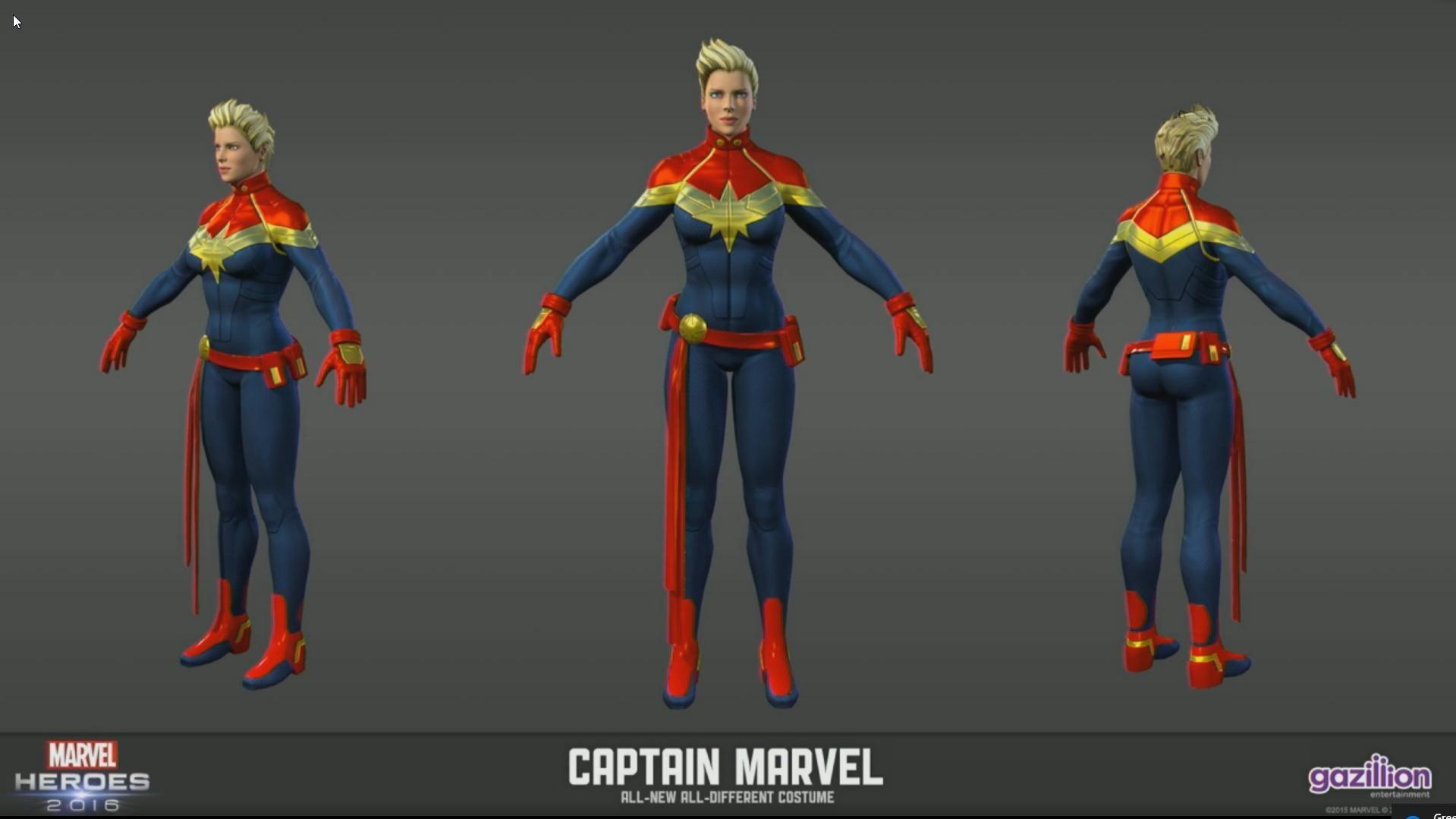 captain marvel hero
