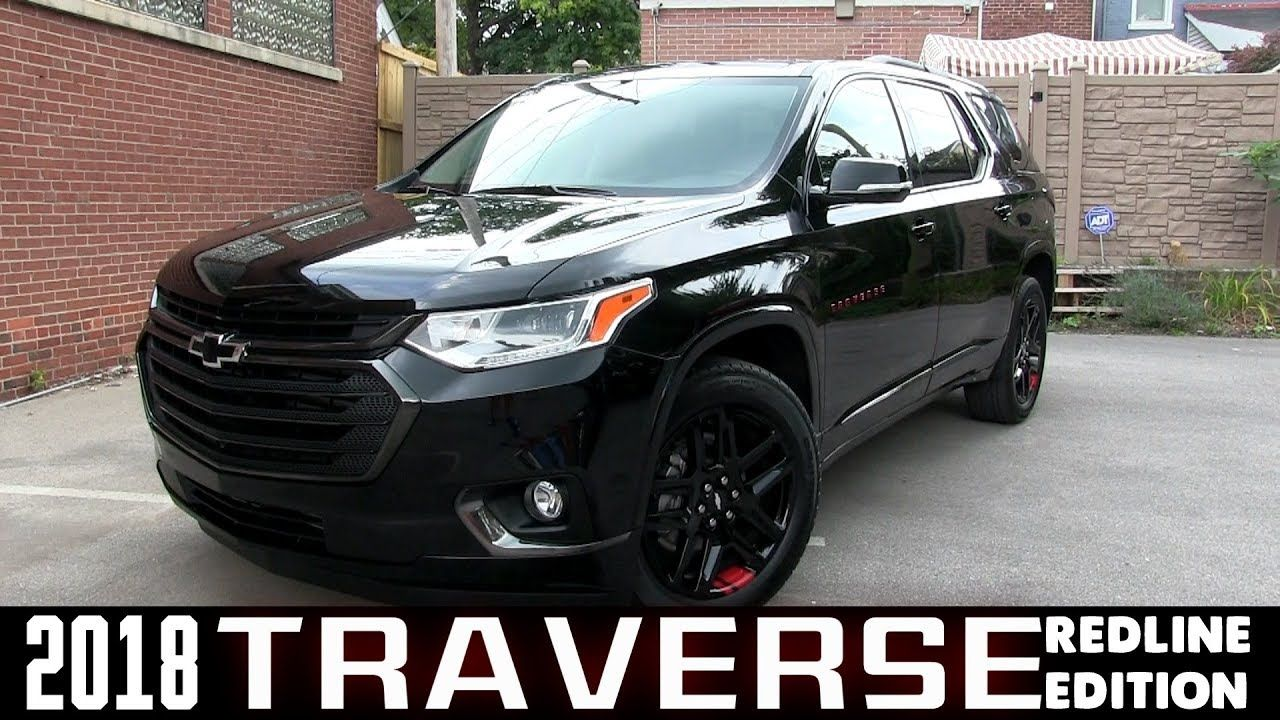 All New 2018 Chevrolet Traverse Premiere Redline Edition Overview