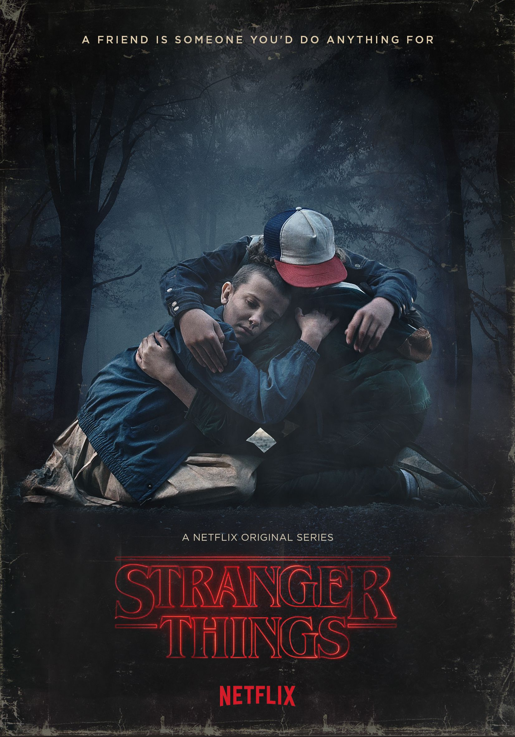 Stranger Things FanArt Poster 4 by Federico Mauro (2016