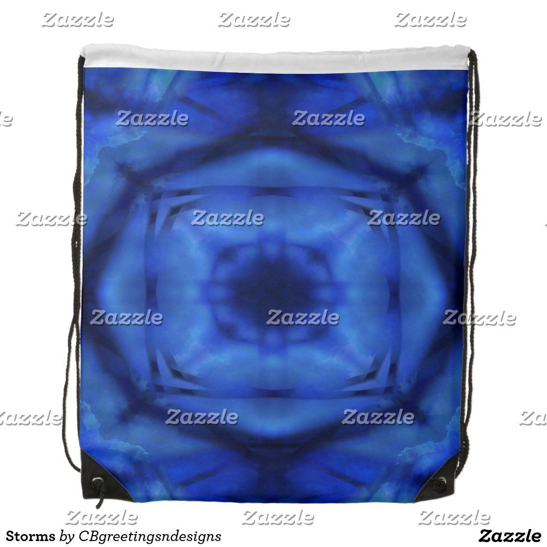 Storms Drawstring Bag