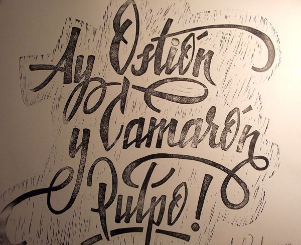 Ay Ostión ! by Memo Vigil, via Behance