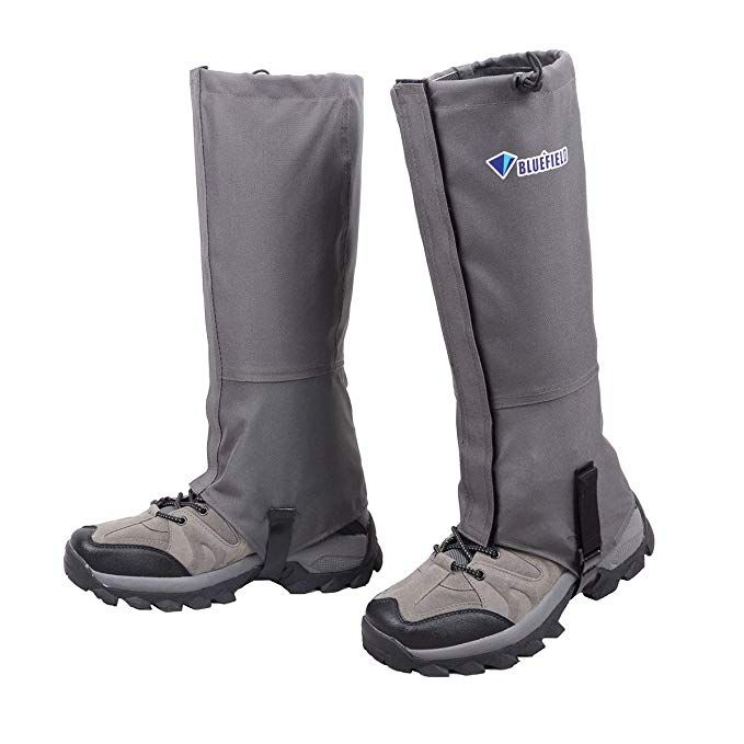 Mountain Hunting Hiking Boot Gaiters Waterproof Snow Snake High Leg Shoes Cover