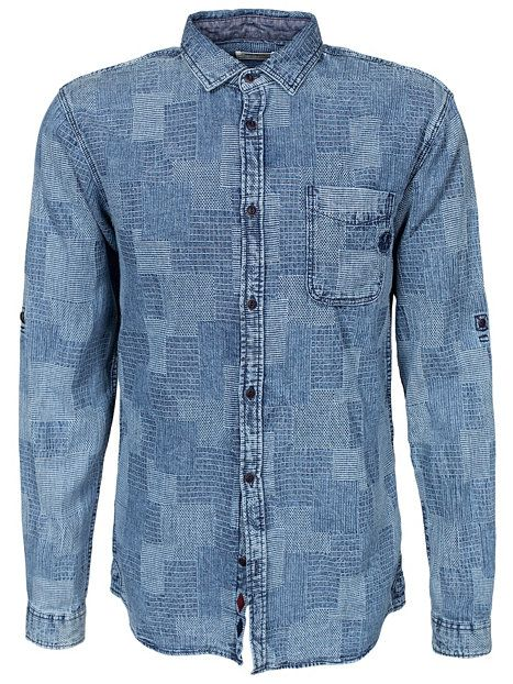 bbd5ab8135 Jjorface Shirt One Pocket L S - Jack   Jones - Light Blue - Shirts (Men) -  Clothing - Men - NlyMan.com